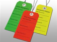 Multipack Equipment Tags (Clean, Dirty, Repair)  2 5/16 X 4 3/4750/cs