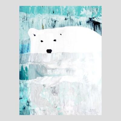 """""""Uiva jääkarhu"""" 30x40cm juliste"""
