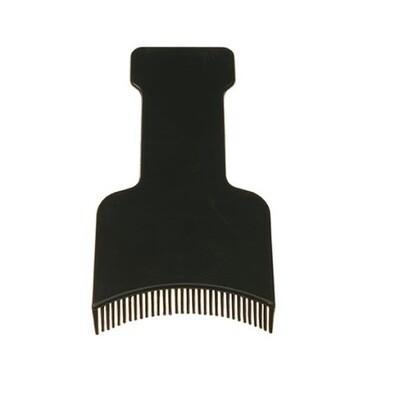 Palette à mèches avec dents
