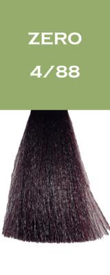 Coloration Zero Vegan - Châtain Violet Intense - 4/88 - 100 ml - Vitality's