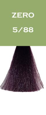 Coloration Zero Vegan - Châtain Clair Violet Intense - 5/88 - 100 ml - Vitality's