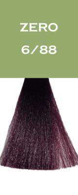 Coloration Zero Vegan - Blond Foncé Violet Intense - 6/88 - 100 ml - Vitality's
