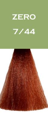 Coloration Zero Vegan - Blond Cuivré Intense - 7/44 - 100 ml - Vitality's