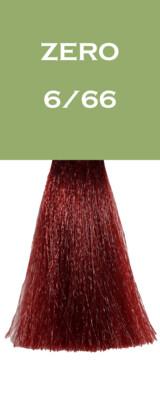Coloration Zero Vegan - Blond Foncé Rouge Intense - 6/66 - 100 ml - Vitality's