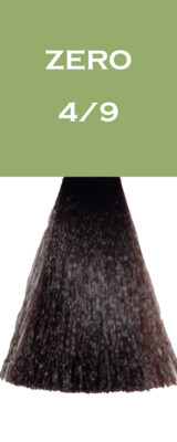Coloration Zero Vegan - Châtain Marron - 4/9 - 100 ml - Vitality's