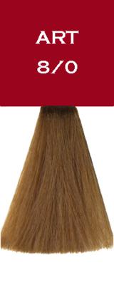 Crème colorante - Blond Clair - 8/0 - Art Absolute - tube 100 ml - Vitality's