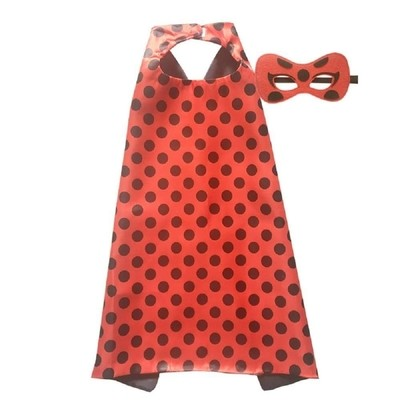 Miraculous Lady Bug Cape and Mask Set