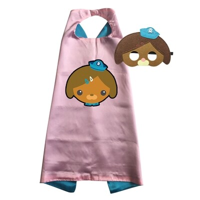 Dashi Octonauts Cape and Mask Dress Up Set