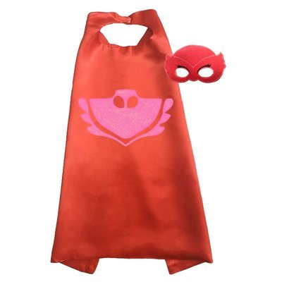 PJ Mask Owlette Cape and Mask Set