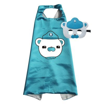 Octonauts Captain Barnacles Cape and Mask Set
