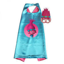 Trolls Princess Poppy Cape and Mask Set