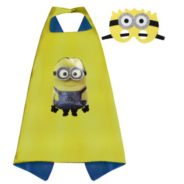 Minion Cape and Mask Set