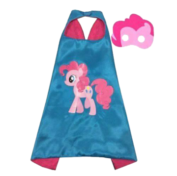My Little Pony Pinkie Pie Cape and Mask Set