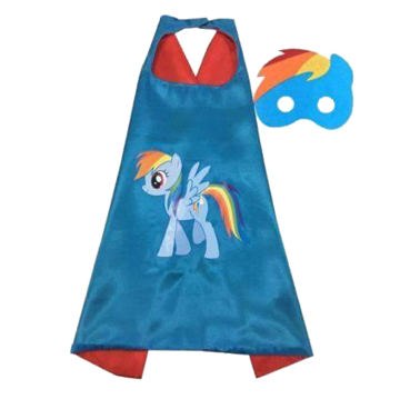 My Little Pony Rainbow Dash Cape and Mask Set