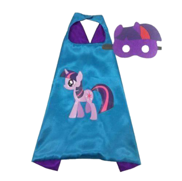 My Little Pony Twilight Sparkle Cape and Mask Set