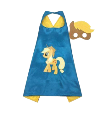 My Little Pony Apple Jack Cape and Mask Set