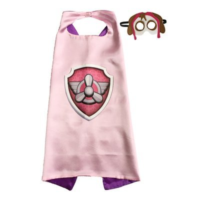Paw Patrol Skye Cape and Mask Set