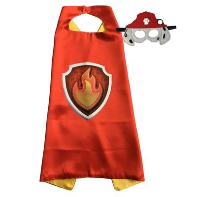 Paw Patrol Marshall Cape and Mask Set