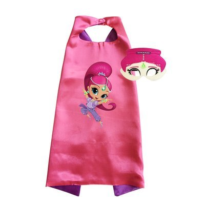 Shimmer and Shine Cape and Mask Set - Shimmer