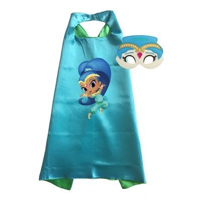 Shimmer and Shine Cape and Mask Set - Shine