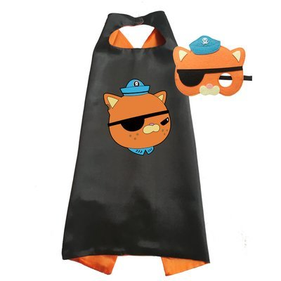 Octonauts Kwazii Cape and Mask Set