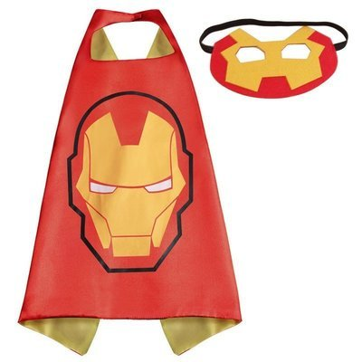 Ironman Dress Up Cape and Mask Set