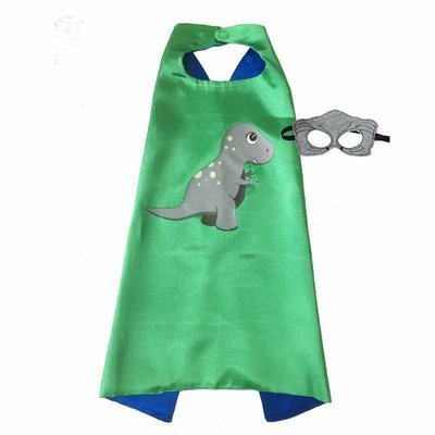 Dinosaur Boy T-Rex Cape and Mask Set Dress Up