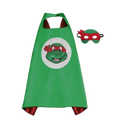 Traindrops Teenage Mutant Ninja Turtle Raphael Cape and Mask Set