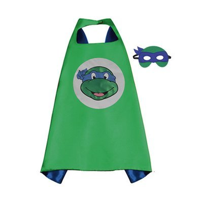 Traindrops Teenage Mutant Ninja Turtle Leonardo Cape and Mask Set