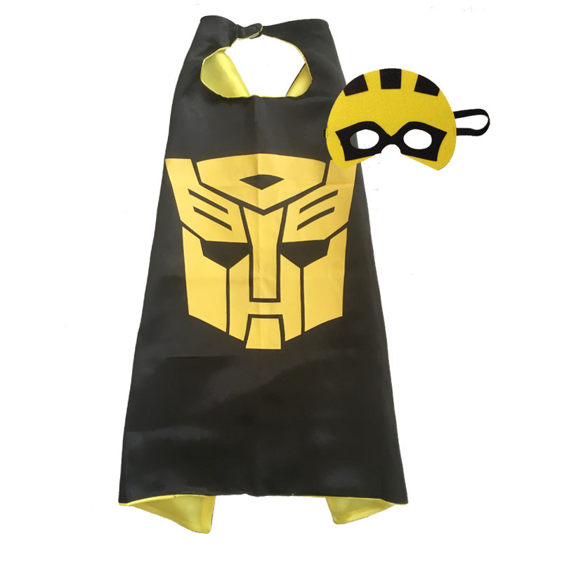 Transformer Bumble Bee Cape and Mask Set