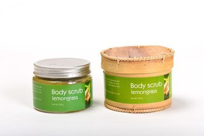 Body Scrub 130g, Lemongrass