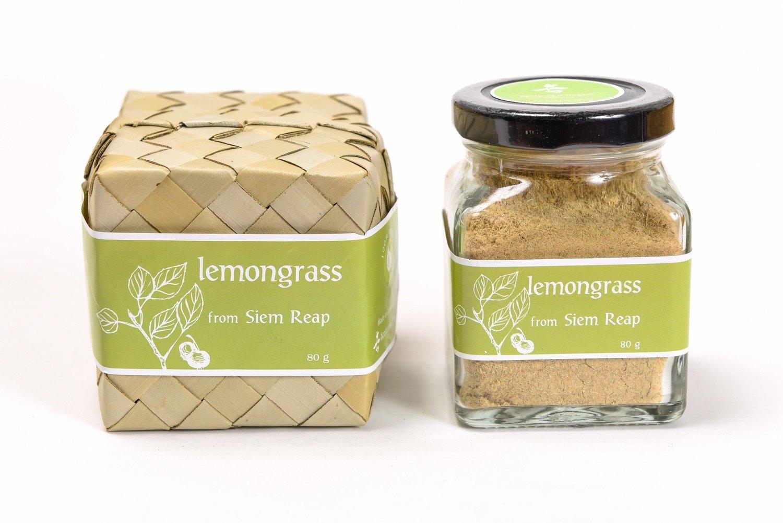 Kampot Lemongrass Powder, 80 grams