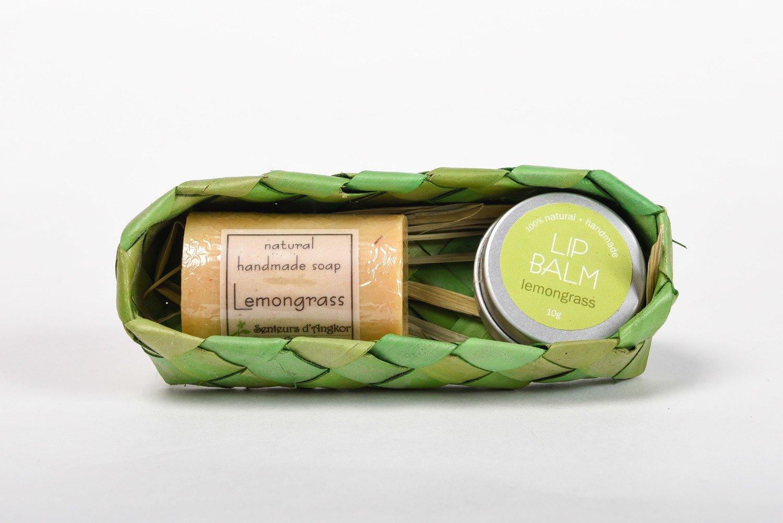 Coffret (Lip Balm and Soap) - Lemongrass
