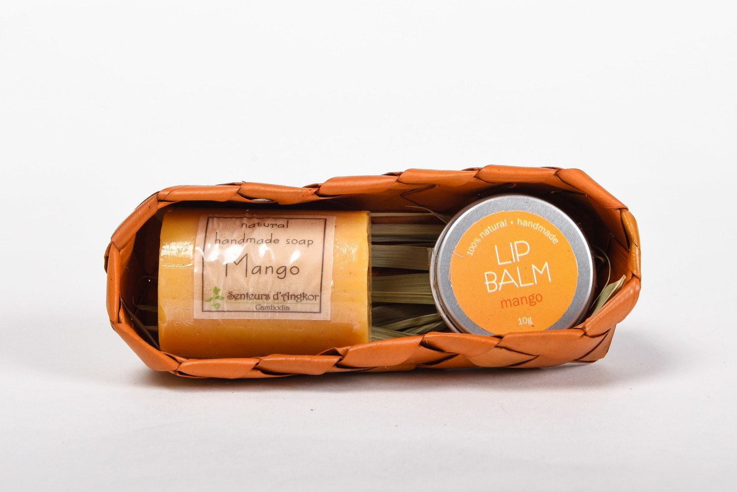 Coffret (Lip Balm and Soap) - Mango