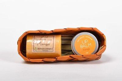 Coffret (Lip Balm and Soap) - Mango
