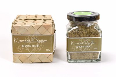 Ground Kampot Black Pepper, 125 grams