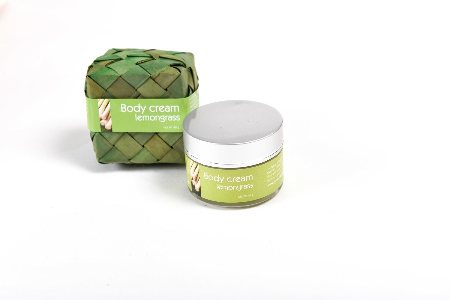 Body Cream 40g, Lemongrass