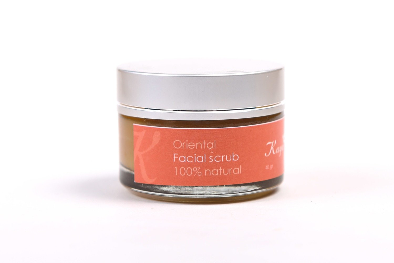 Oriental Facial Scrub , 100% Natural