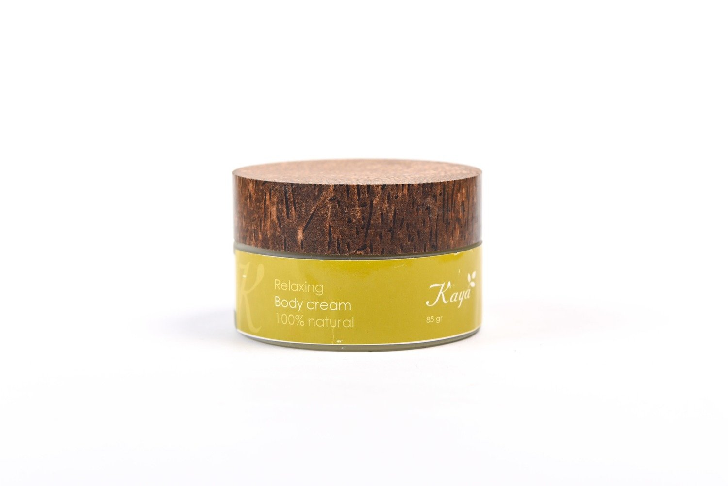 Relaxing Body Cream, 100 % Natural
