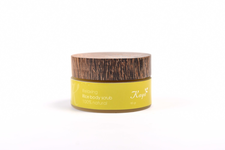 Relaxing Body Scrub, 100 % Natural