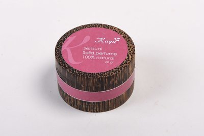 Sensual Solid Perfume, 100% Natural