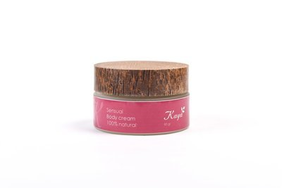 Sensual Body Cream, 100 % Natural