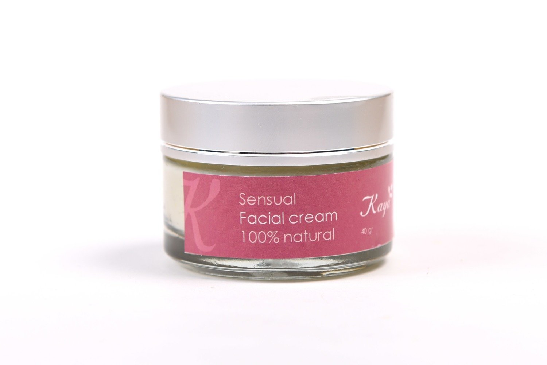 Sensual Facial Cream, 100 % Natural