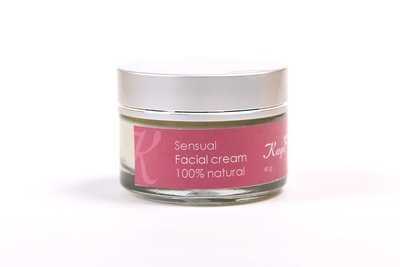 Sensual Facial Cream, 100 % Natural