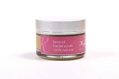 Sensual Facial Scrub, 100 % Natural