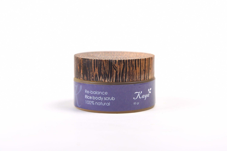 Re-Balance Body Scrub, 100% Natural