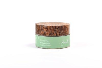 Refreshing Body Cream, 100 % Natural