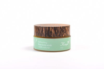 Refreshing Body Scrub, 100 % Natural