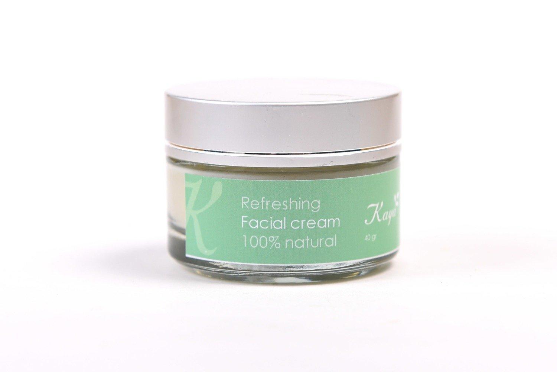 Refreshing Facial Cream, 100 % Natural