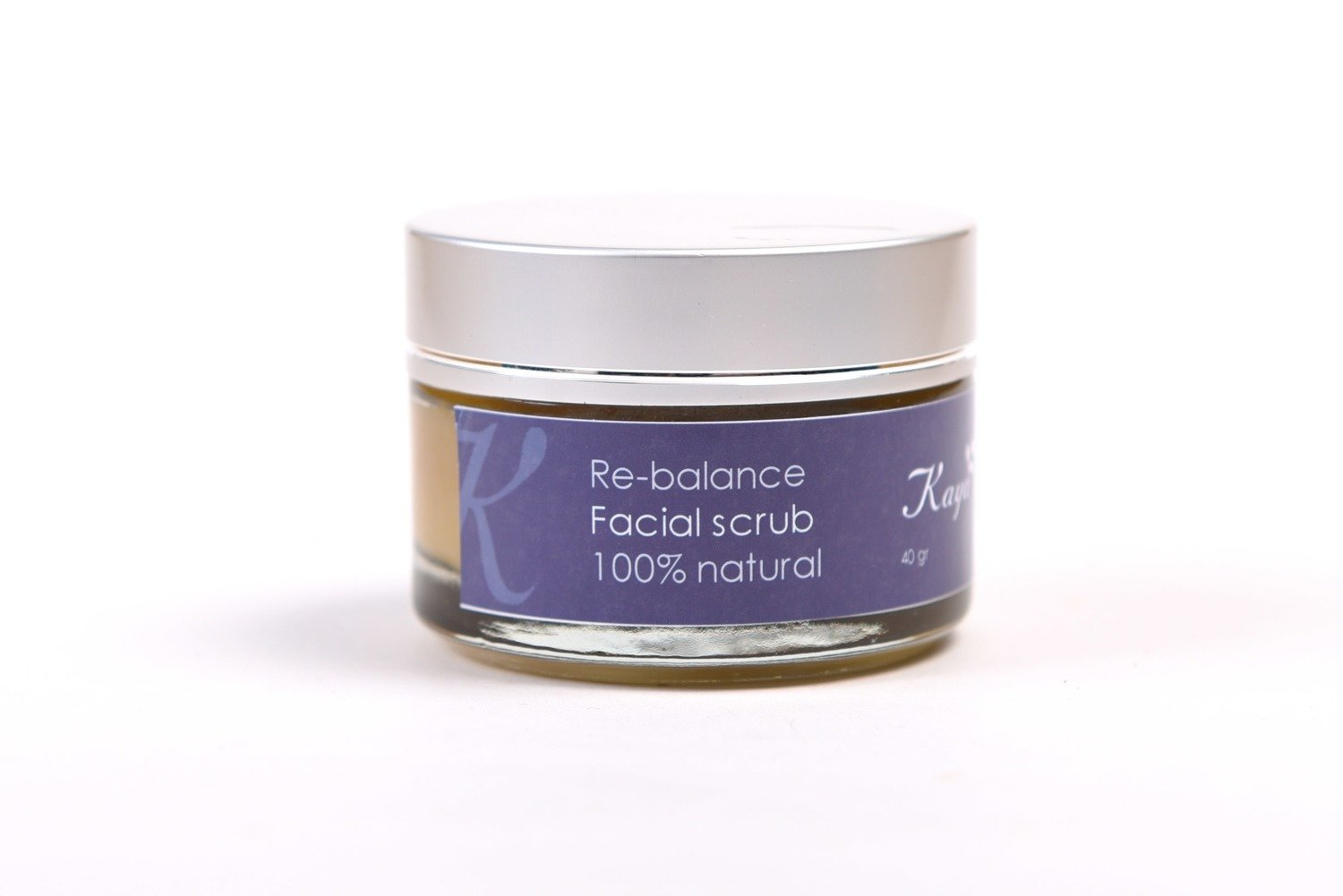 Re-Balance Facial Scrub, 100% Natural